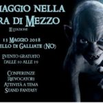 AL CASTELLO DI GALLIATE (NO) PER PARLARE DI HOBBITOLOGIA E DI HARRY POTTER